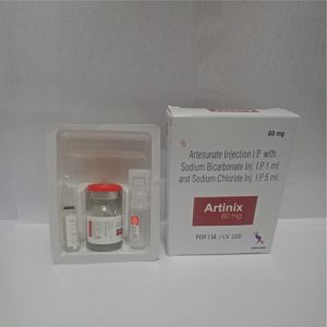 Artesunate Injection I.P. with Sodium bicarbonate Inj. I.P. 1 ml, and Sodium Chloride Inj. I.P. 5 ml