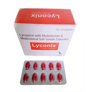 lycopene with multivitamin and multimineral soft gelatin capsules