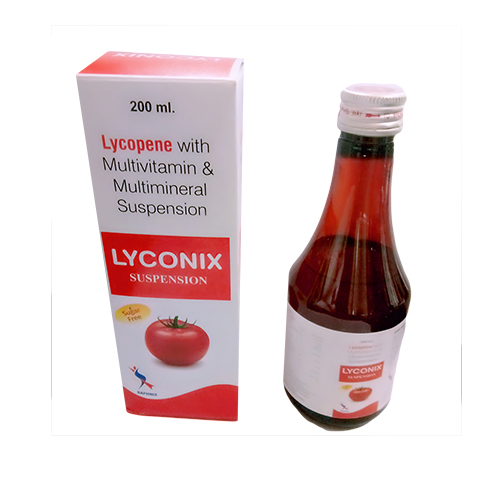 Lycopene with Multivitamin & Multimineral Suspension