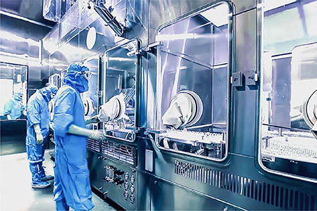 What is Third Party Manufacturing Process at Saphnix Lifesciences?